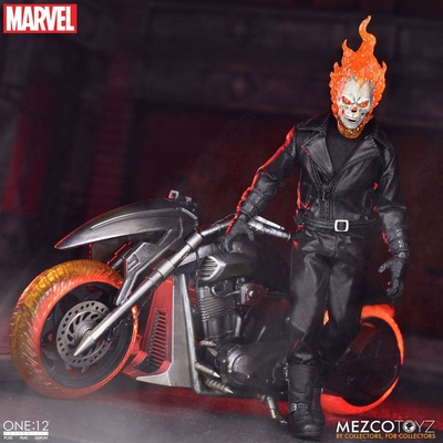 Figurine & véhicule Ghost Rider sonore et lumineux Ghost Rider & Hell Cycle