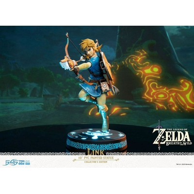 Statuette The Legend of Zelda Breath of the Wild Link Collector's Edition 25cm