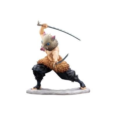 Statuette Demon Slayer Kimetsu no Yaiba ARTFXJ Inosuke Hashibira 18cm
