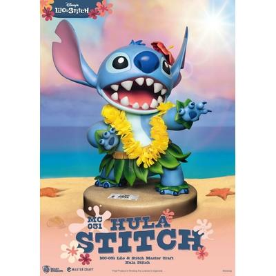 Statuette Disney Master Craft Hula Stitch 38cm