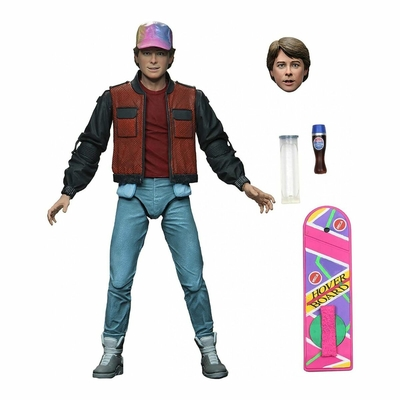 Figurine Retour vers le futur 2 Ultimate Marty McFly 18cm