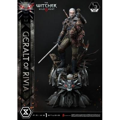 Statuette Witcher 3 Wild Hunt Geralt von Riva 88cm
