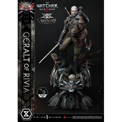 Statuette Witcher 3 Wild Hunt Geralt von Riva Deluxe Version 88cm