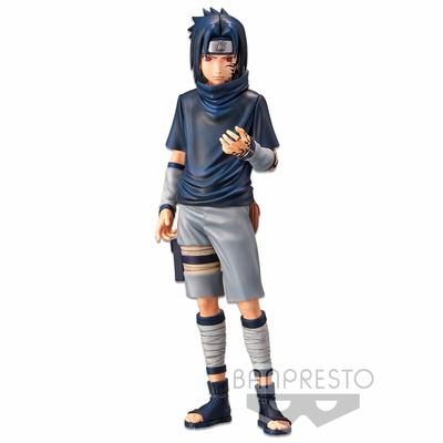 Statuette Naruto Shippuden Grandista nero Uchiha Sasuke N°2 - 24cm