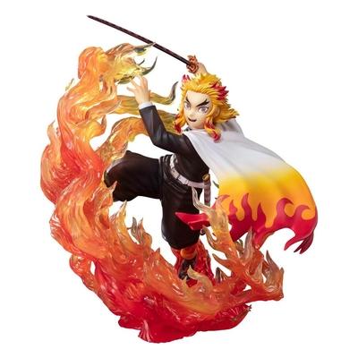 Statuette Demon Slayer Kimetsu no Yaiba Figuarts ZERO Kyojuro Rengoku Flame Breathing 18cm