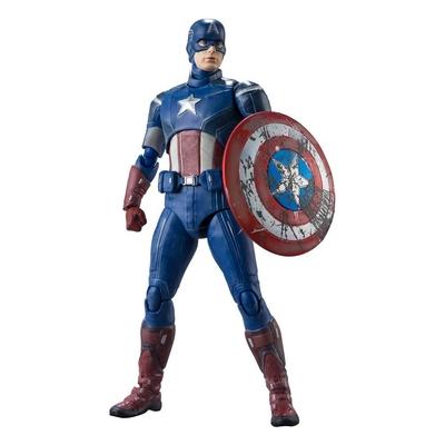 Figurine Avengers S.H. Figuarts Captain America Avengers Assemble Edition 15cm