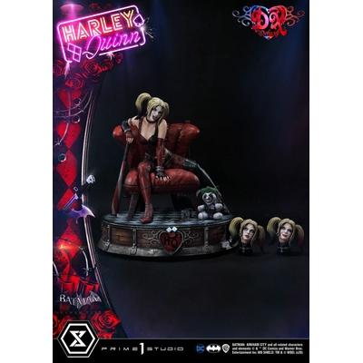 Statue Batman Arkham City Harley Quinn Deluxe Bonus Version 58cm