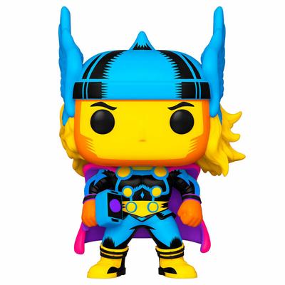 Figurine Marvel Funko POP! Marvel Black Light Thor 9cm