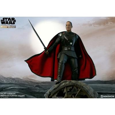 Statuette Star Wars The Mandalorian Premium Format Moff Gideon 50cm