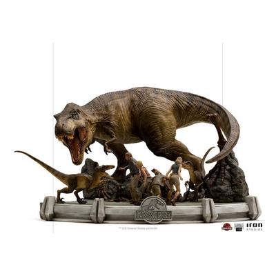 Statue Jurassic Park Demi Art Scale The Final Scene 48cm