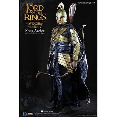 Figurine Le Seigneur des Anneaux Elven Archer 30cm