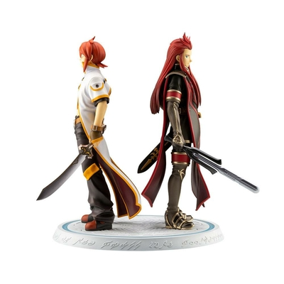 Statuette Tales Of The Abyss Luke Fon Fabre & Asch Meaning of Birth 24cm