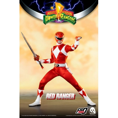 Figurine Mighty Morphin Power Rangers FigZero Red Ranger 30cm