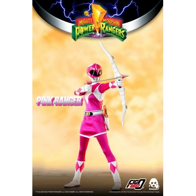 Figurine Mighty Morphin Power Rangers FigZero Pink Ranger 30cm