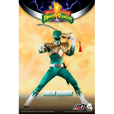 Figurine Mighty Morphin Power Rangers FigZero Green Ranger 30cm