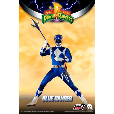 Figurine Mighty Morphin Power Rangers FigZero Blue Ranger 30cm