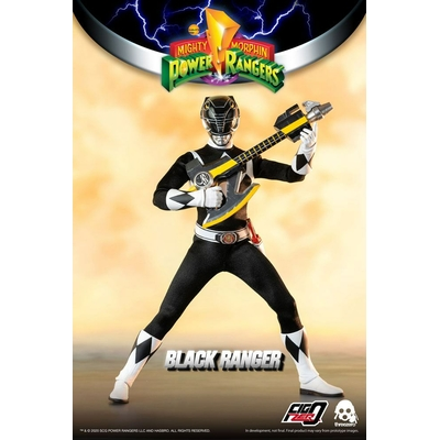 Figurine Mighty Morphin Power Rangers FigZero Black Ranger 30cm