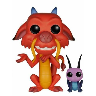 Figurine Mulan Funko POP! Disney Mushu & Cri-Kee 9cm