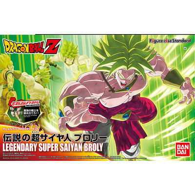 Maquette Model Kit Dragon Ball Z Legendary Super Saiyan Broly 18cm