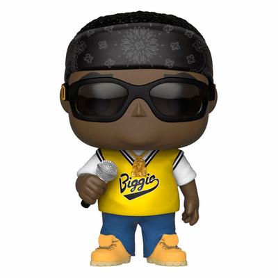 Figurine Notorious B.I.G. Funko POP! Rocks Notorious B.I.G. Jersey 9cm
