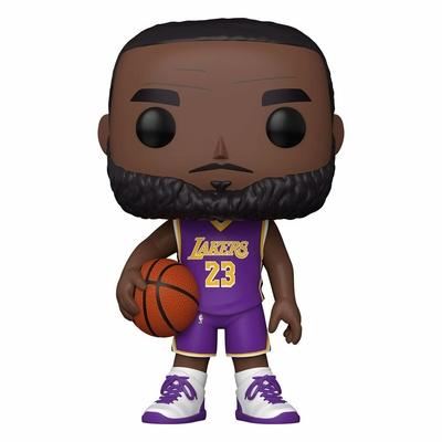 Figurine NBA Super Sized Funko POP! LeBron James Purple Jersey 25cm