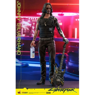 Figurine Cyberpunk 2077 Video Game Masterpiece Johnny Silverhand 31cm