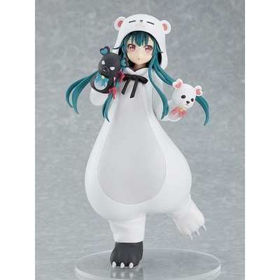 Statuette Kuma Kuma Kuma Bear Pop Up Parade Yuna White Bear Ver. 17cm
