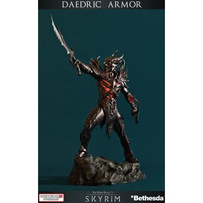 Statuette The Elder Scrolls V Skyrim Daedric Armor 42cm