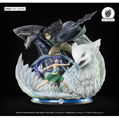 Statue Fairy Tail Gajeel & Wendy HQS+ by Tsume 70cm