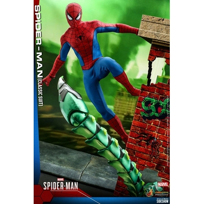 Figurine Marvel's Spider-Man Video Game Masterpiece Spider-Man Classic Suit 30cm