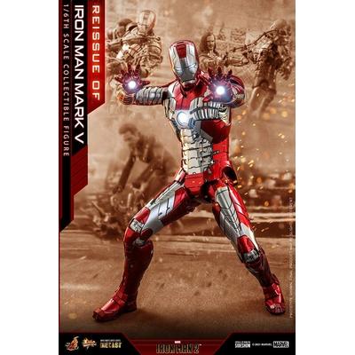 Figurine Iron Man 2 Movie Masterpiece Series Diecast Iron Man Mark V 32cm