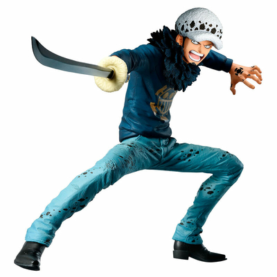 Statuette One Piece Ichibansho Trafalgar Law Treasure Cruise 14cm