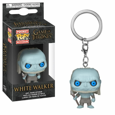 Porte-clés Game of Thrones Pocket POP! White Walker 4cm