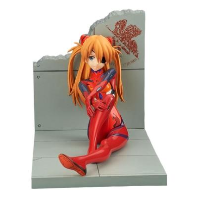 Statuette Evangelion 4.0 Final Asuka Shikinami Langley Plugsuit Ver. 11cm