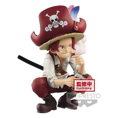 Statuette One Piece DXF Grandline Children Shanks Wano Kuni 9cm