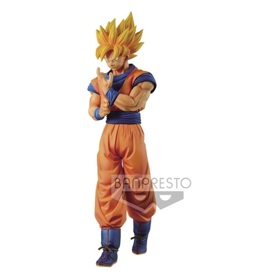 Statuette Dragon Ball Z Solid Edge Works Super Saiyan Son Goku 23cm