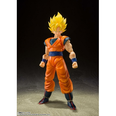 Figurine Dragon Ball Z S.H. Figuarts Super Saiyan Full Power Son Goku 14cm