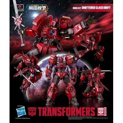 Figurine Transformers Furai Model Plastic Model Kit Shattered Glass Drift 16cm