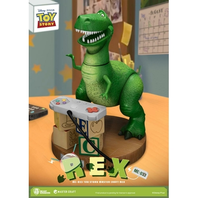 Statuette Toy Story Master Craft Rex 33cm