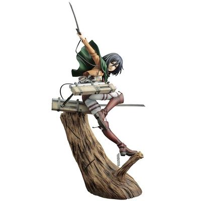Statuette Attack on Titan ARTFXJ Mikasa Ackerman Renewal Package Ver. 35cm