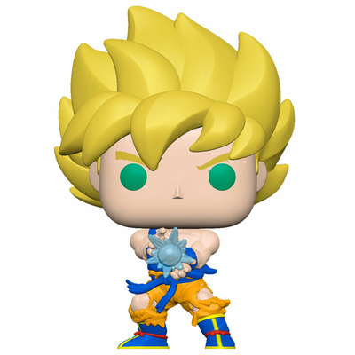 Figurine Dragon Ball Z Funko POP! SS Goku with Kamehameha Wave 9cm