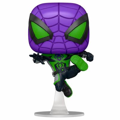 Figurine Marvel's Spider-Man Funko POP! Miles Morales Purple Suit 9cm