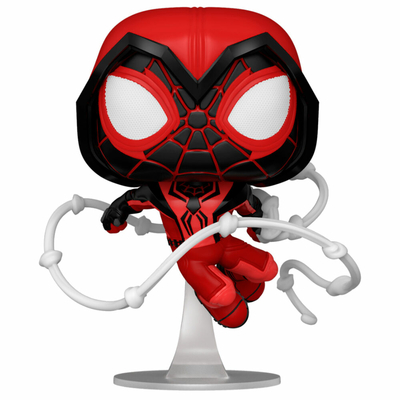 Figurine Marvel's Spider-Man Funko POP! Miles Morales Red Suit 9cm