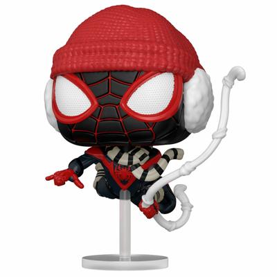 Figurine Marvel's Spider-Man Funko POP! Miles Morales Winter Suit 9cm