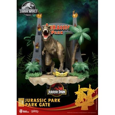 Diorama Jurassic Park D-Stage Park Gate 15cm