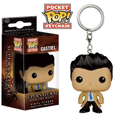 Porte-clés Supernatural POP! Castiel 4cm