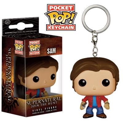 Porte-clés Supernatural POP! Sam 4cm