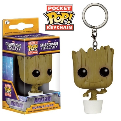 Porte-clés Guardians of the Galaxy POP! Dancing Groot 4cm