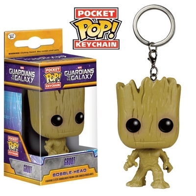 Porte-clés Guardians of the Galaxy POP! Groot 4cm