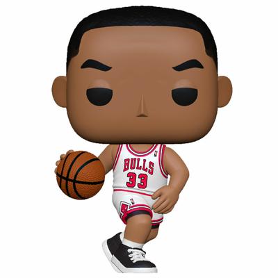 Figurine NBA Legends Funko POP! Scottie Pippen Bulls Home 9cm